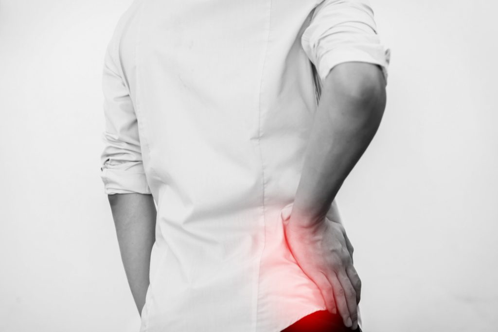 hip pain after a car accident
