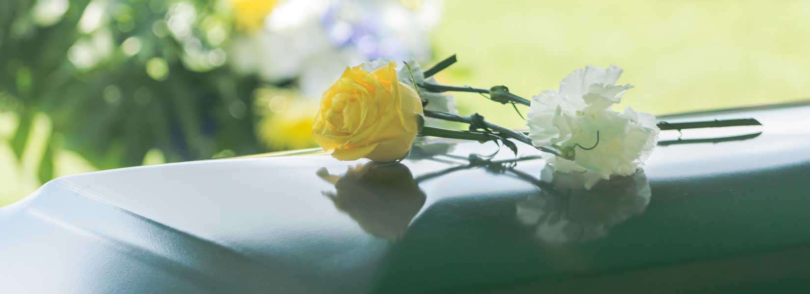 Funeral service for a person who was terminally ill