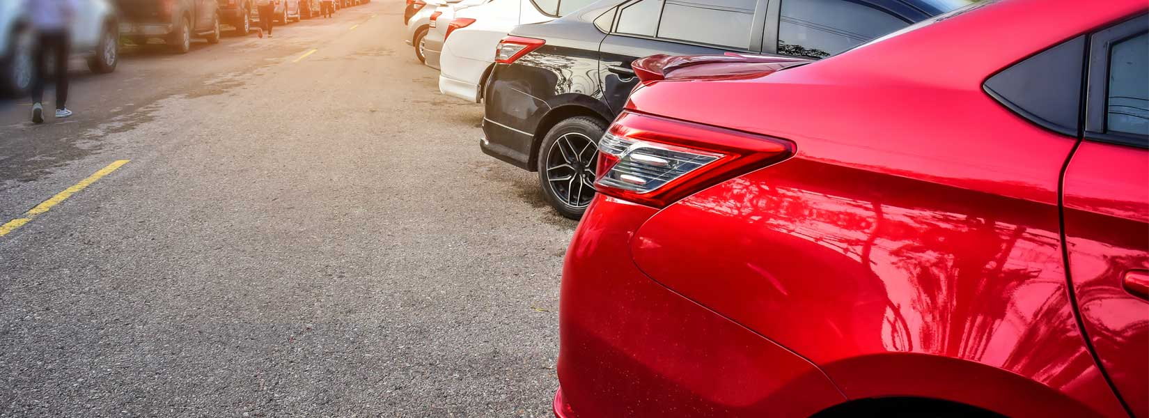 Picture of cars parked